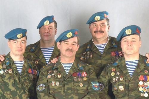 ансамбль Голубые Береты